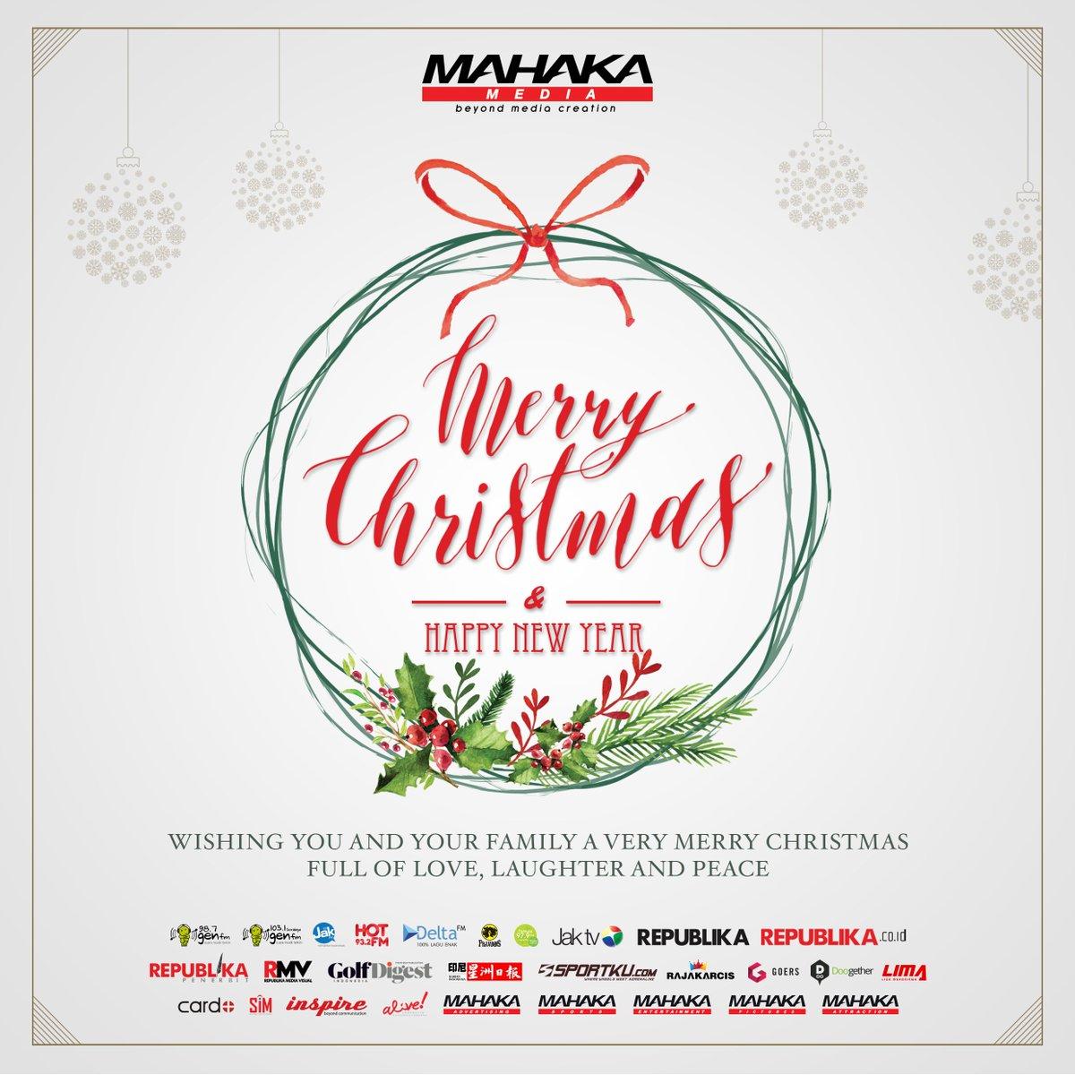 Semoga damai dan kebahagian Natal selalu bersama kita. Selamat Natal bagi Anda yang merayakan. 😇 https://t.co/CdsR7i7sP8
