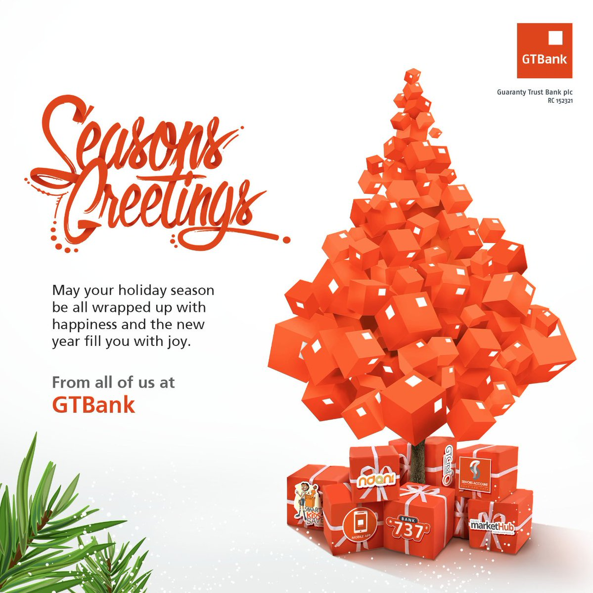 Guaranty trust bank on twitter seasons greetings fron all of us guaranty trust bank on twitter seasons greetings fron all of us at gtbank kristyandbryce Images