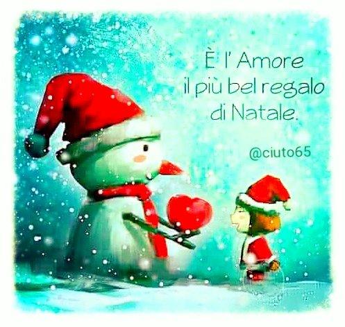 Regalo Natale Amore.Daniele Ciuto On Twitter Natale E L Amore Il Piu Bel