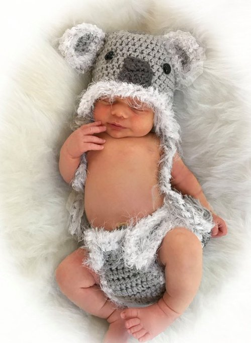 Newborn Photo Prop Pattern, Crochet Diaper Cover Pattern, Crochet Hat Pattern