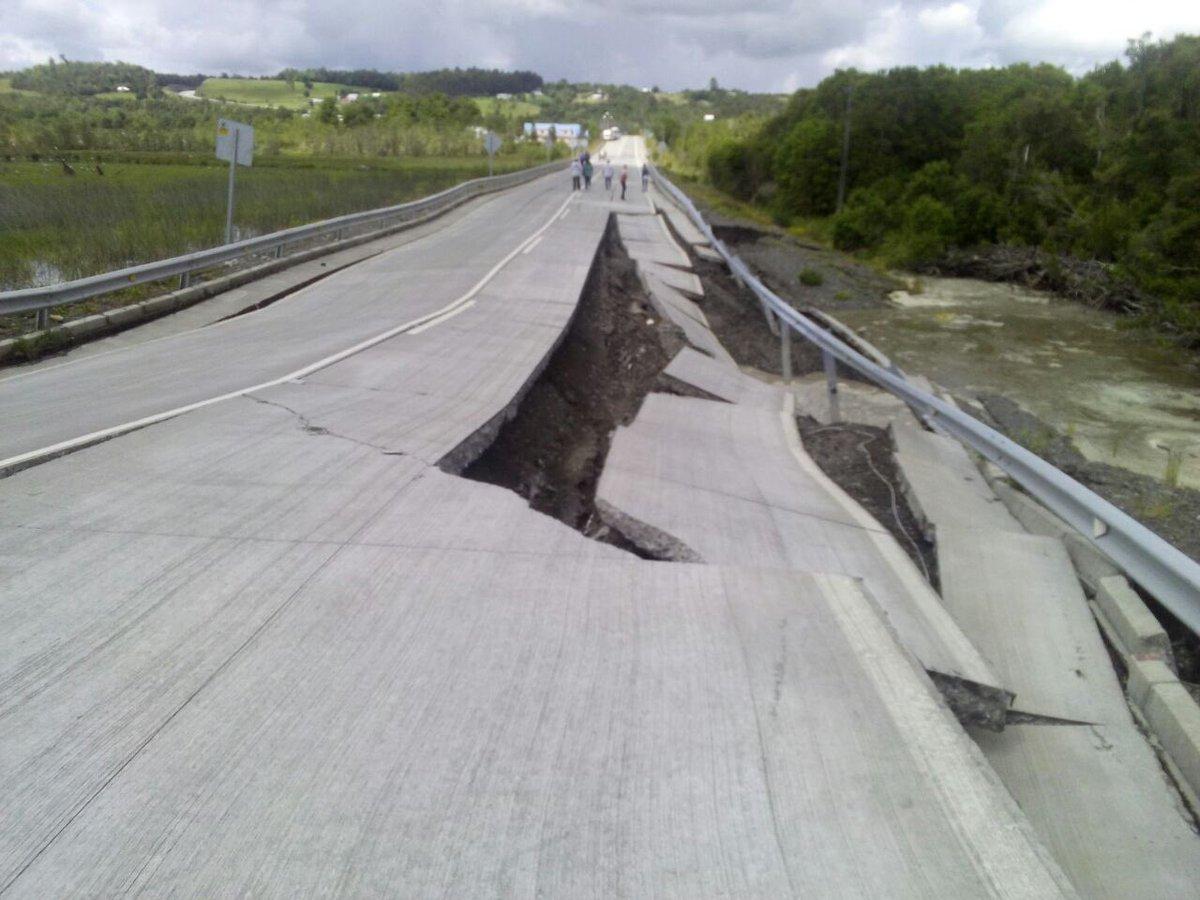 Forte terremoto nel sud del Cile, prime immagini