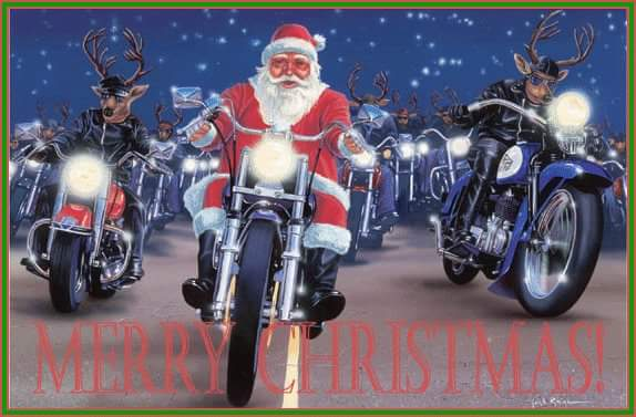 Merry Christmas to all and to all a great ride! https://t.co/MQ4NF3i9S4