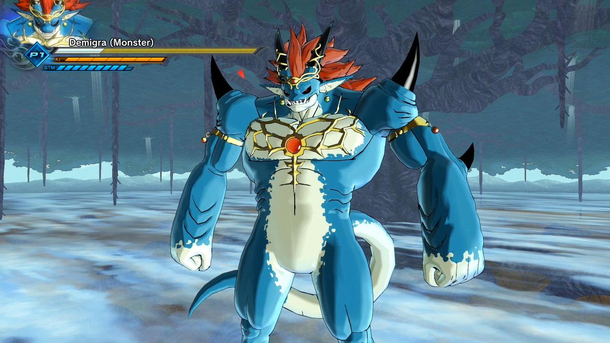 Sol Negro On Twitter Demigra Monster Form Xenoverse 2 Mod