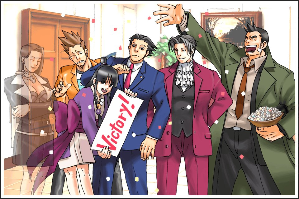 ace attorney trials and tribulations ending relationship
