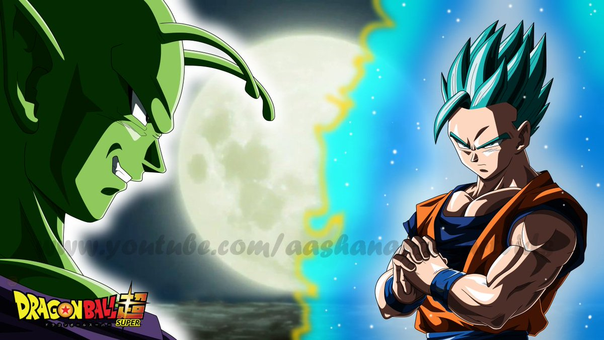 Aashan On Twitter Rhymestyle EmperorBigD KenXyro I Drew A Gohan SSJB And Piccolo Wallpaper