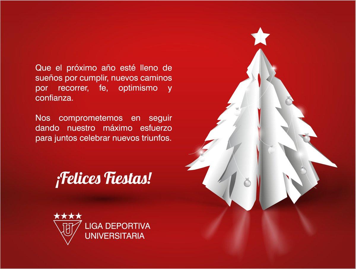 Deseos Para Feliz Navidad.Ldu Oficial على تويتر Enviamos Nuestros Mejores Deseos