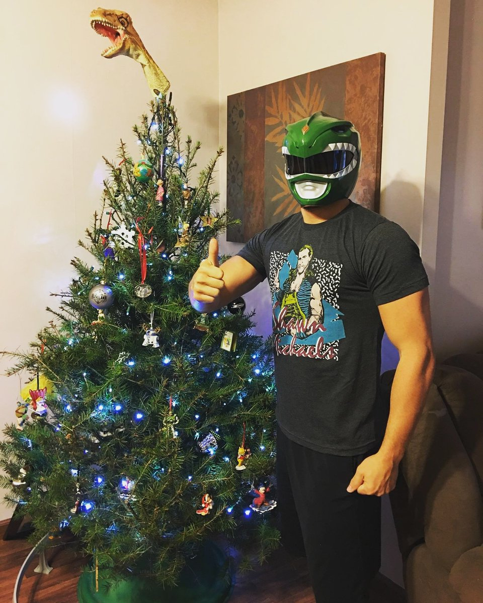 Power Rangers Christmas Tree.Johnny Gargano On Twitter Merry Christmas To All