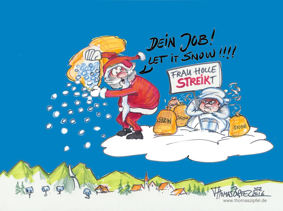 Fis Ski Jumping On Twitter When Mother Holle Is On Strike Santa