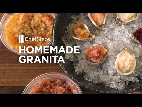 ChefSteps Tips & Tricks: Homemade Granita #ChefStep #Food #Recipes #Yummy
