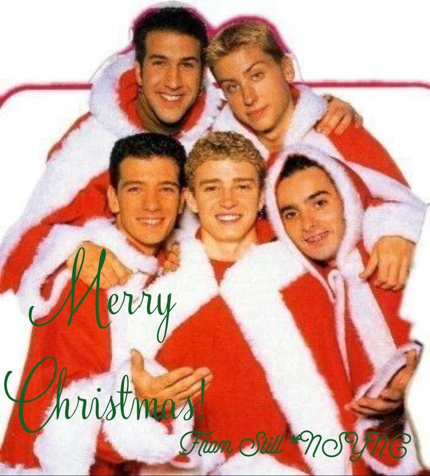 Nsync Christmas Songs - Christmas Cards
