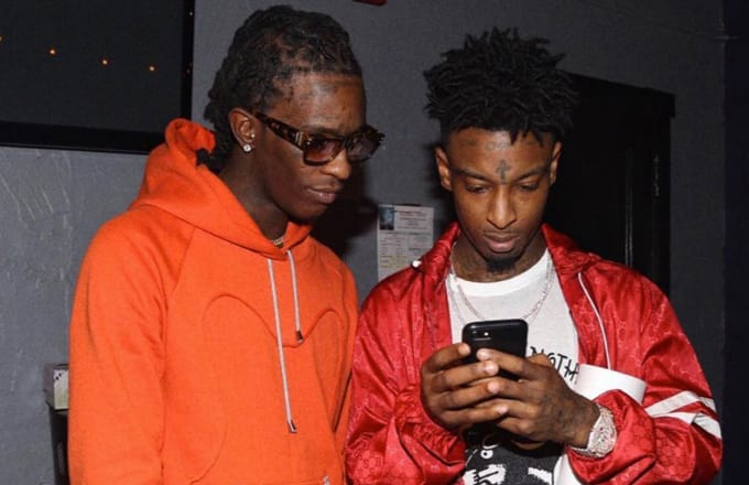 21 Savage Christmas.Young Thug And 21 Savage Spent The Holiday Making Christmas