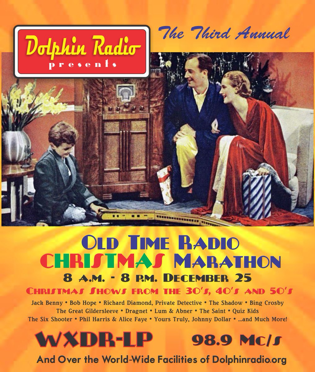 0 replies 1 retweet 1 like - Old Time Radio Christmas