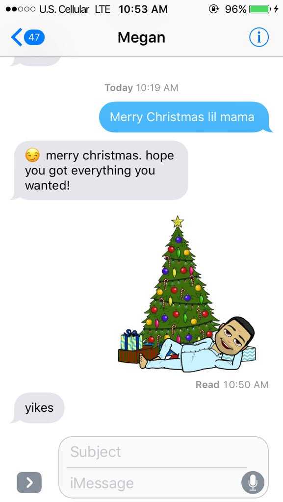 Merry Christmas Lil Mama 2.Chance The Rapper On Twitter Send That Text This Morning
