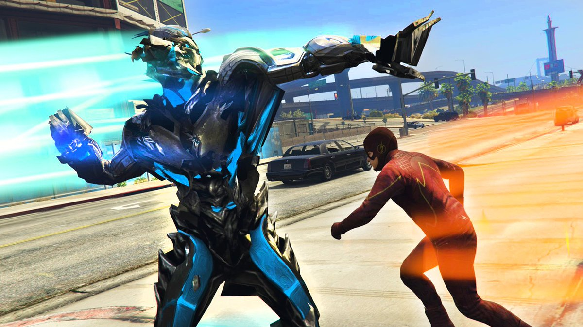 Typical Gamer On Twitter The Flash Vs Savitar The God Of Speed
