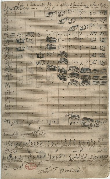 "Johann Sebastian Bach's ""Christmas Oratorio"", 1734. View the score here: https://t.co/aylfZZkaIs #music https://t.co/u7FqWah3LN"