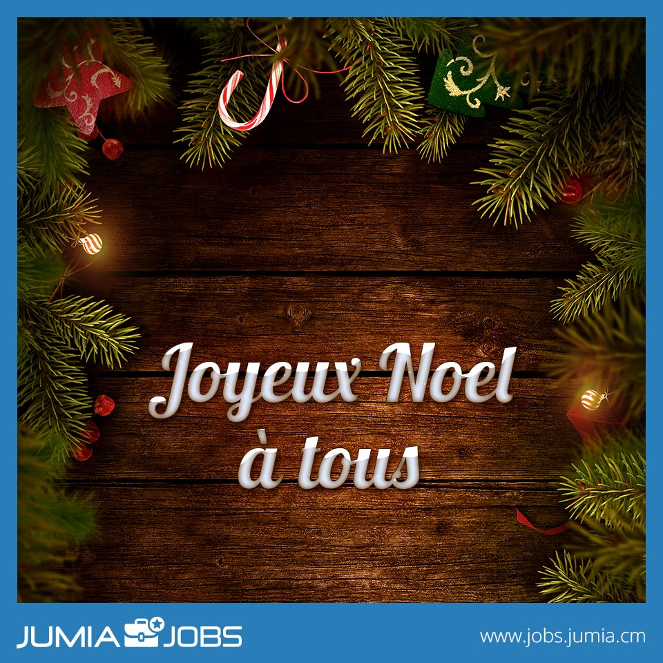 Nous vous souhaitons de merveilleuses fêtes #JobFamily!
