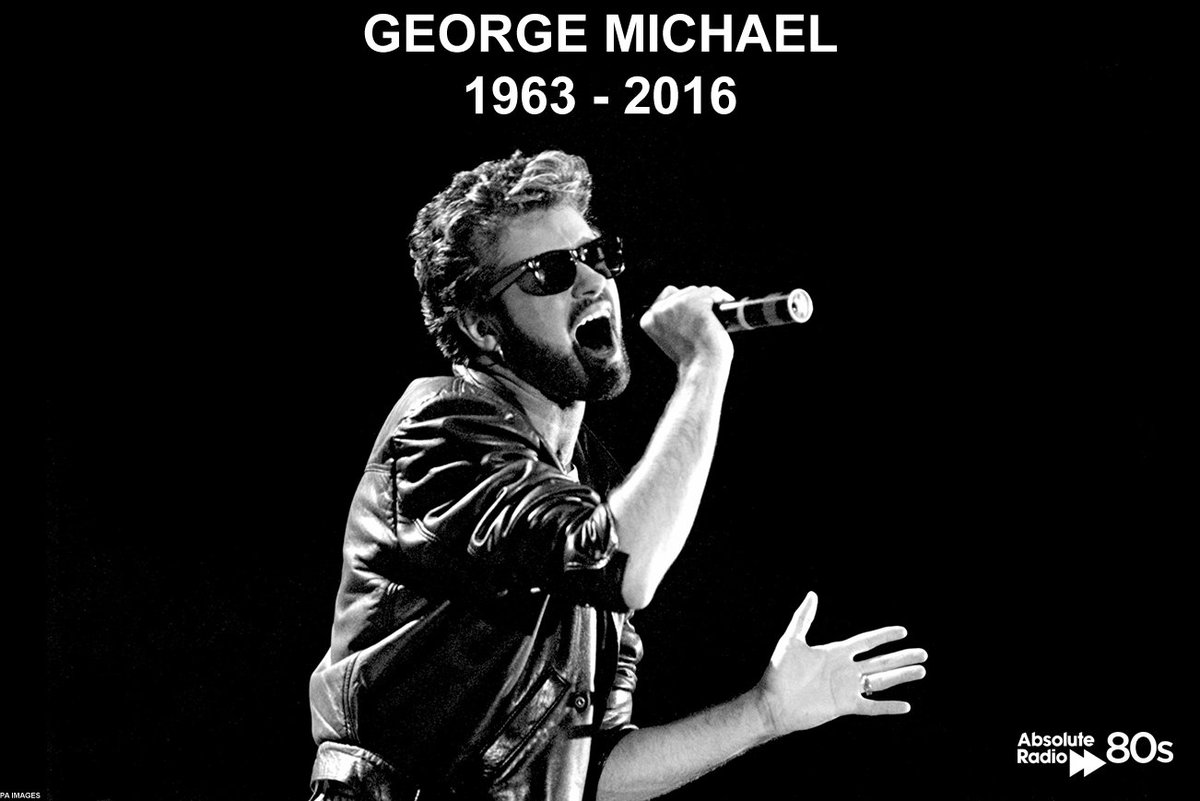George Michael has passed away aged 53. RIP George. https://t.co/vWFLAqRV3p