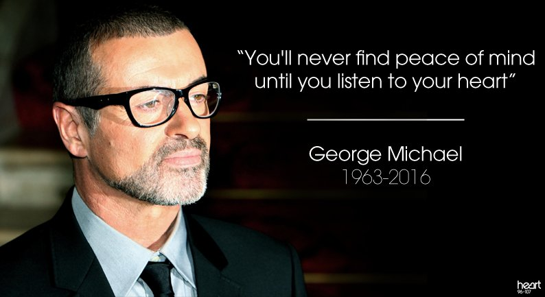 A man that inspired so many with his talent. George Michael, RIP. https://t.co/nftp5T31sm