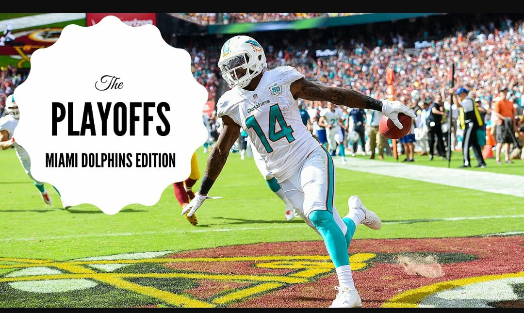 We are in baby...Miami Dolphins are playoff bounds...Alright Miami... https://t.co/wMRAQ0ifoS