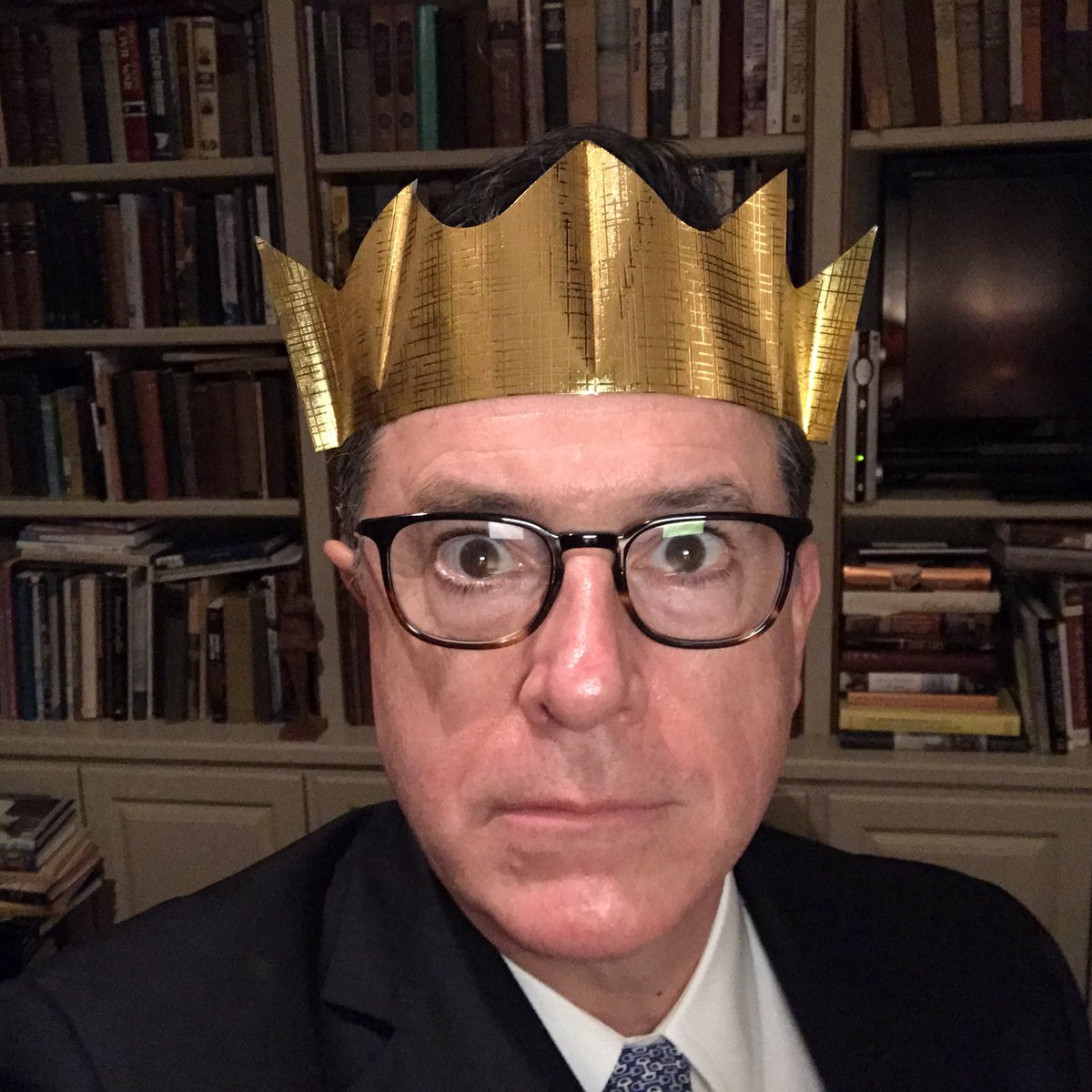 Stephen Colbert On Twitter I Am The King Of Christmas Your King