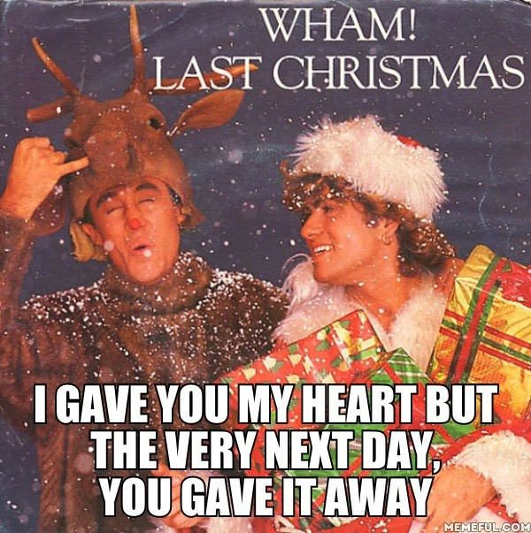 R.I.P. George Michael. 2016 didn't even let us #Christmas