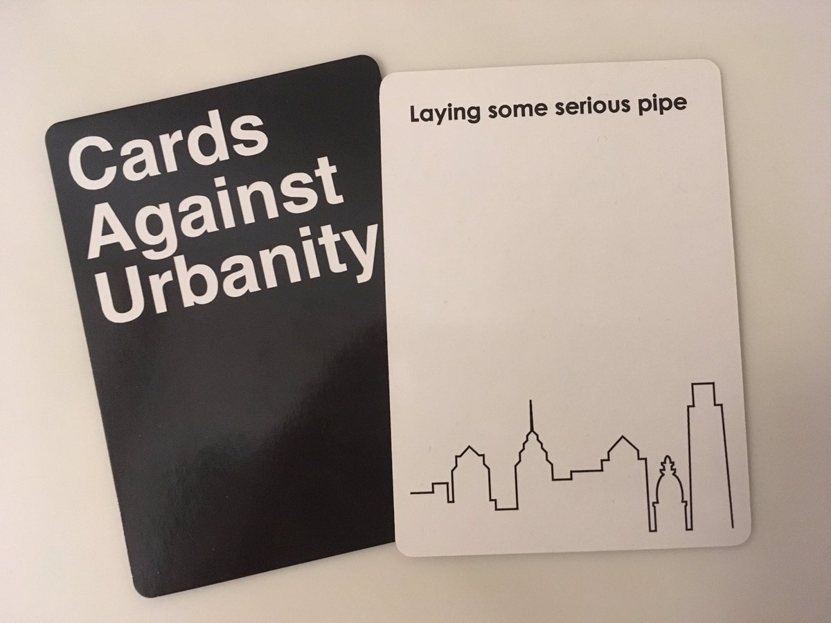 #cardsagainsturbanity Update: Lots Of Fun, Especially Having To Explain To  Your Parents That This Phrase Has A Figurative Meaning. Pic.twitter.com/ ...