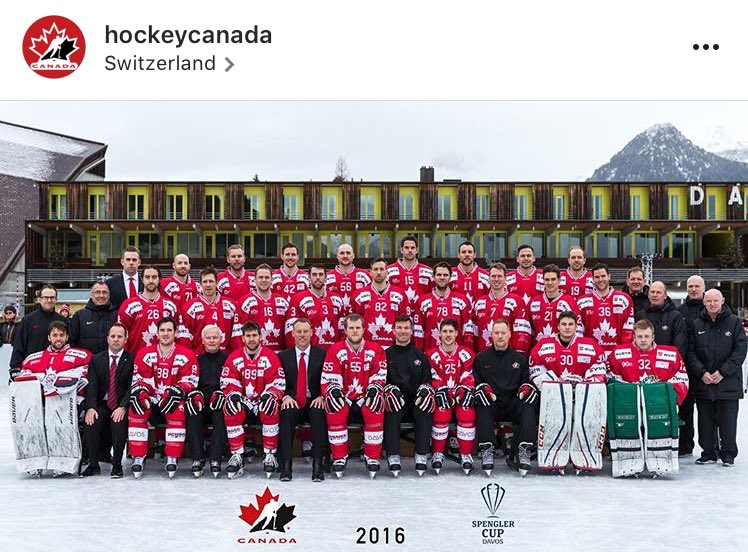 MayRay is on the CAN. Spengler Cup Team - AHL 807f104d9