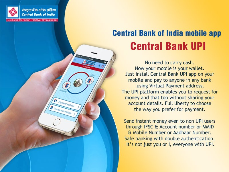 Central Bank of India on Twitter: