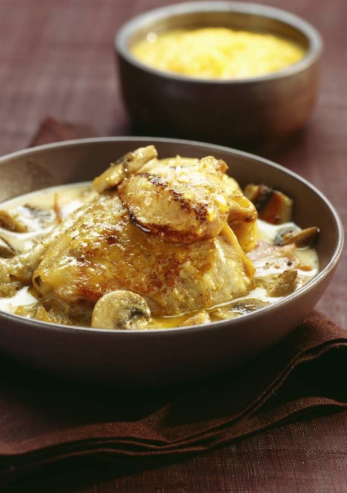 """cuisine et mets on twitter: """"fricassée de chapon au foie gras"""