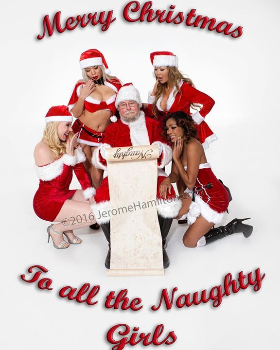 Consider, that girl naughty santa merry christmas share