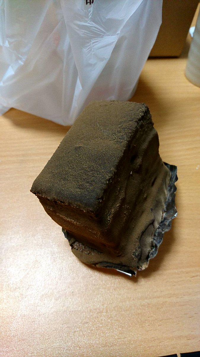 石畳とかいうロックなケーキ