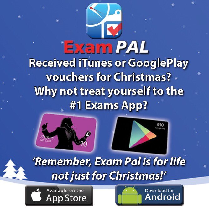 Exam pal on twitter festive greetings from the 1 exam app xmas exam pal on twitter festive greetings from the 1 exam app xmas 2017 mocks revision exams gcse alevels android quote quoteoftheday goodvibes m4hsunfo