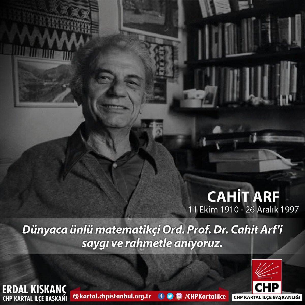 Chp Kartal On Twitter Dünyaca ünlü Matematikçi Ord Prof Dr