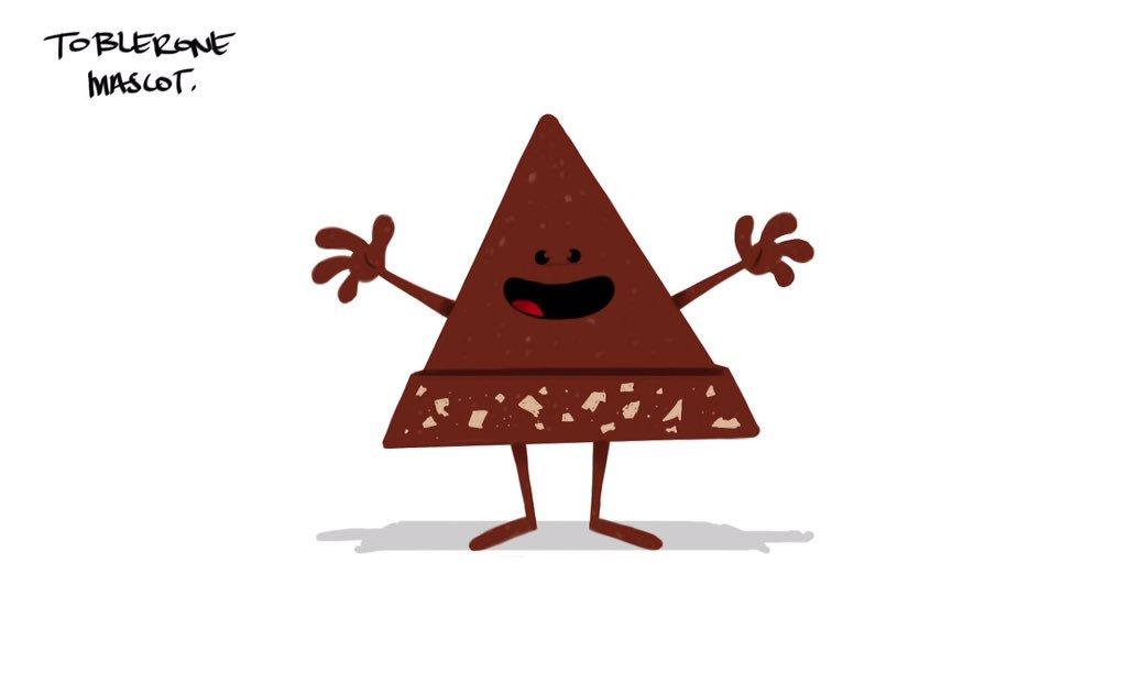 Image result for toblerone cartoon