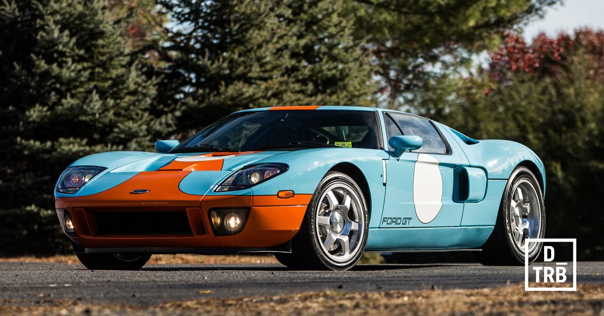 Drivetribe On Twitter Carroll Shelby Helped Design It And Jeremy Clarkson Owned One The  Ford Gt Heritage Edition Https T Co Ydwvqdefa