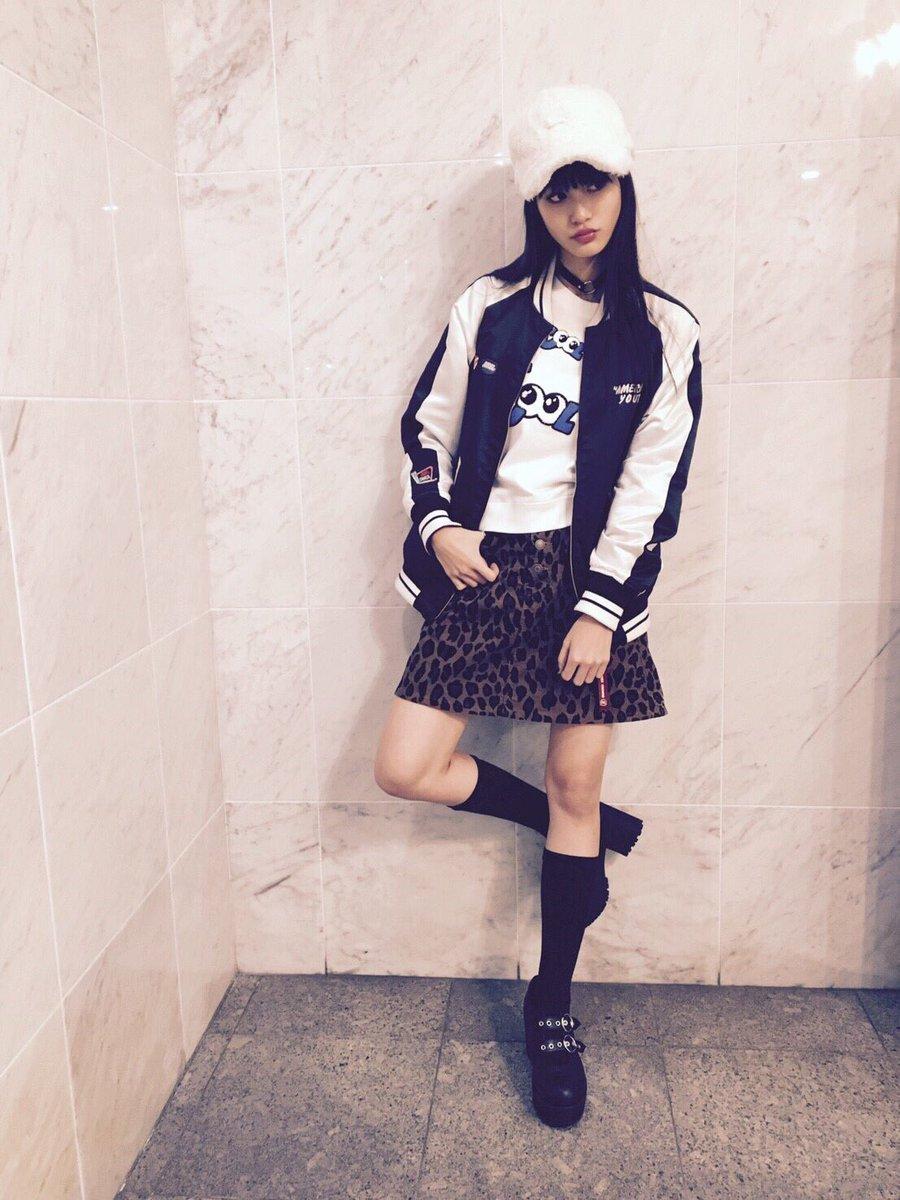 """生見愛瑠☆めるる☆ auf Twitter: """"昨日のコーデ💟 分かりにくいけど ..."""