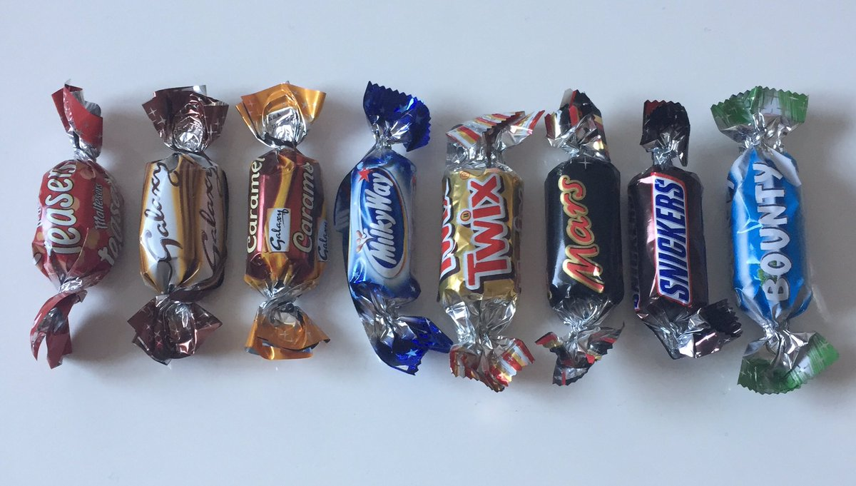 Just ranked my Celebrations from left to right. Agree? Disagree? https://t.co/Bdz9Vtwjps