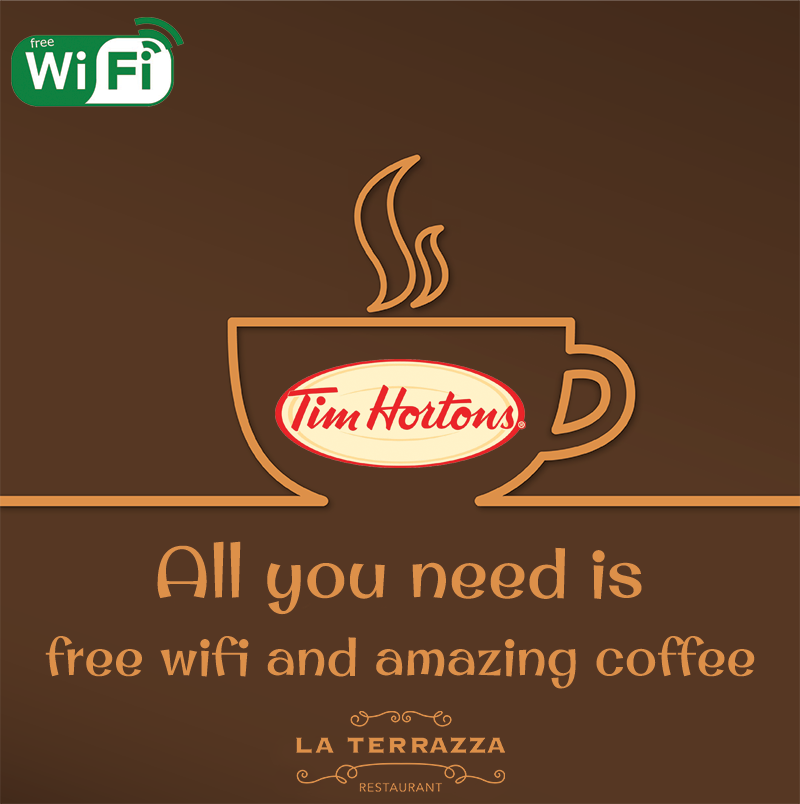 La Terrazza On Twitter We Have The Best Coffee In Town Wouldnt