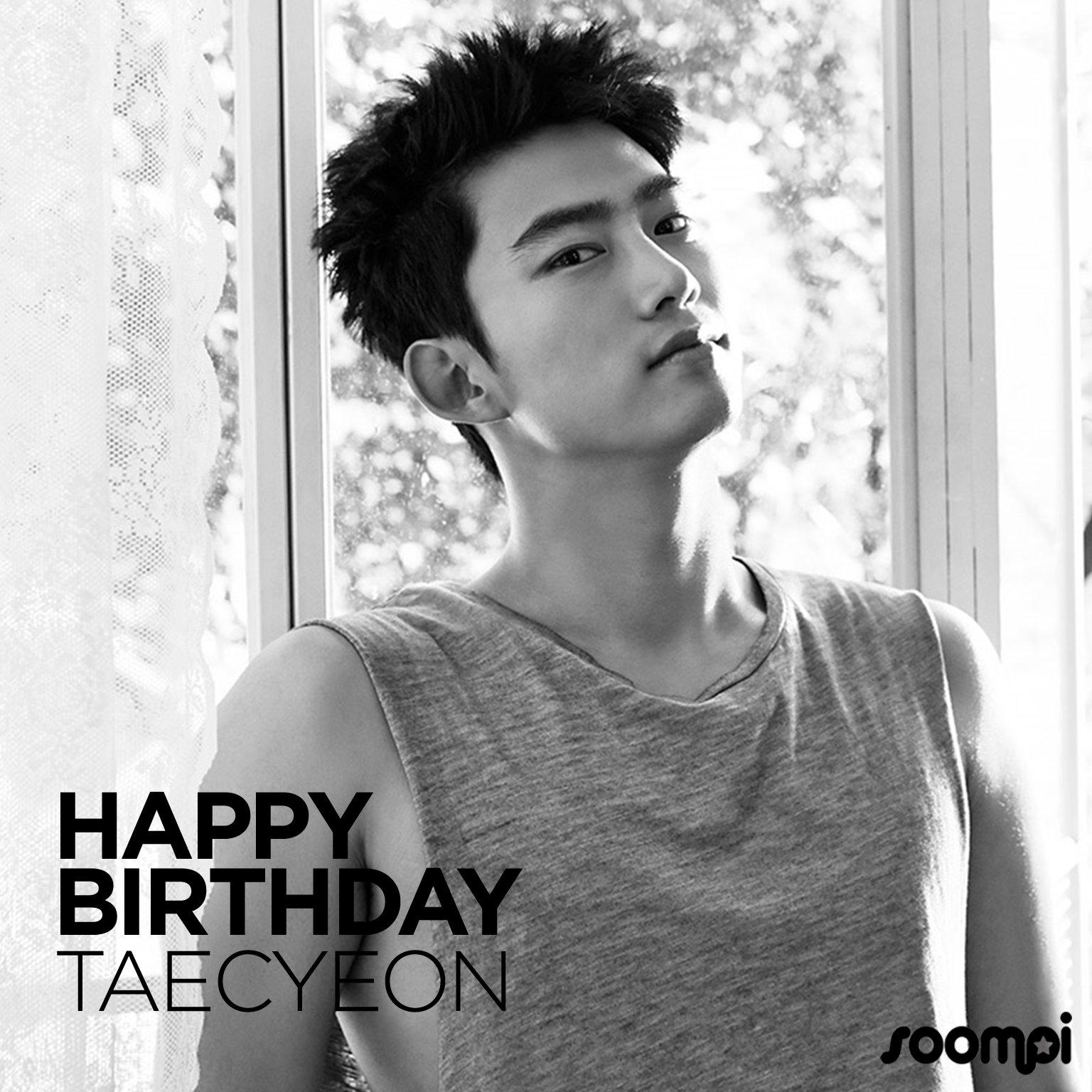 Happy Birthday to #2PM's Taecyeon (@taeccool)! #HappyTaecyeonDay https://t.co/5Uu8qXEtMd https://t.co/RrscDKkC88
