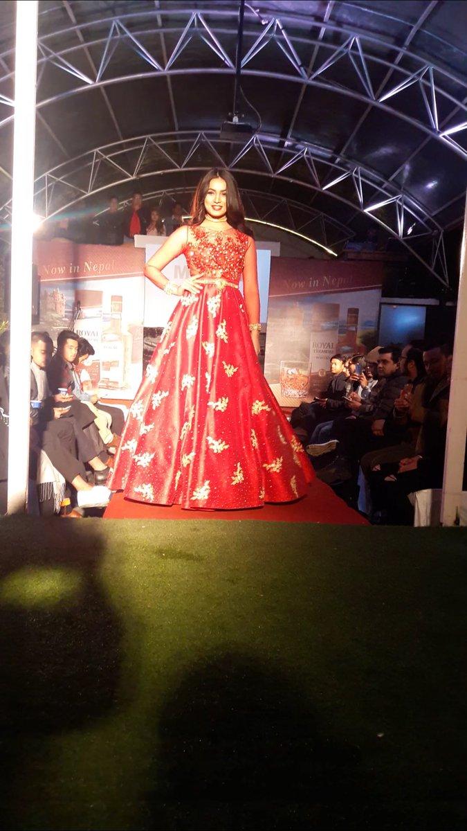 Neelam Chand On Twitter Was Fun Walking As Showstopper For Designer Manish Rai Manishrai Showstopper