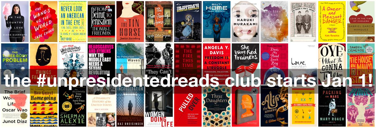 Join the #unpresidentedreads club