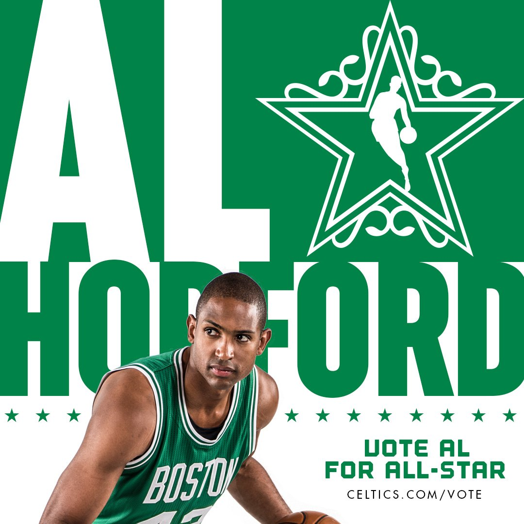 I'm voting for Al Horford, the man!