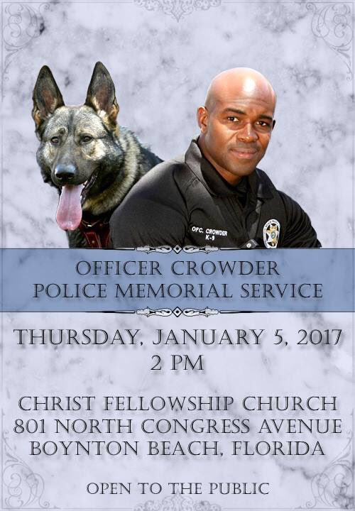 We hope you will join us in honoring Officer Crowder. #BBPD792 https://t.co/RWws7JTVXv