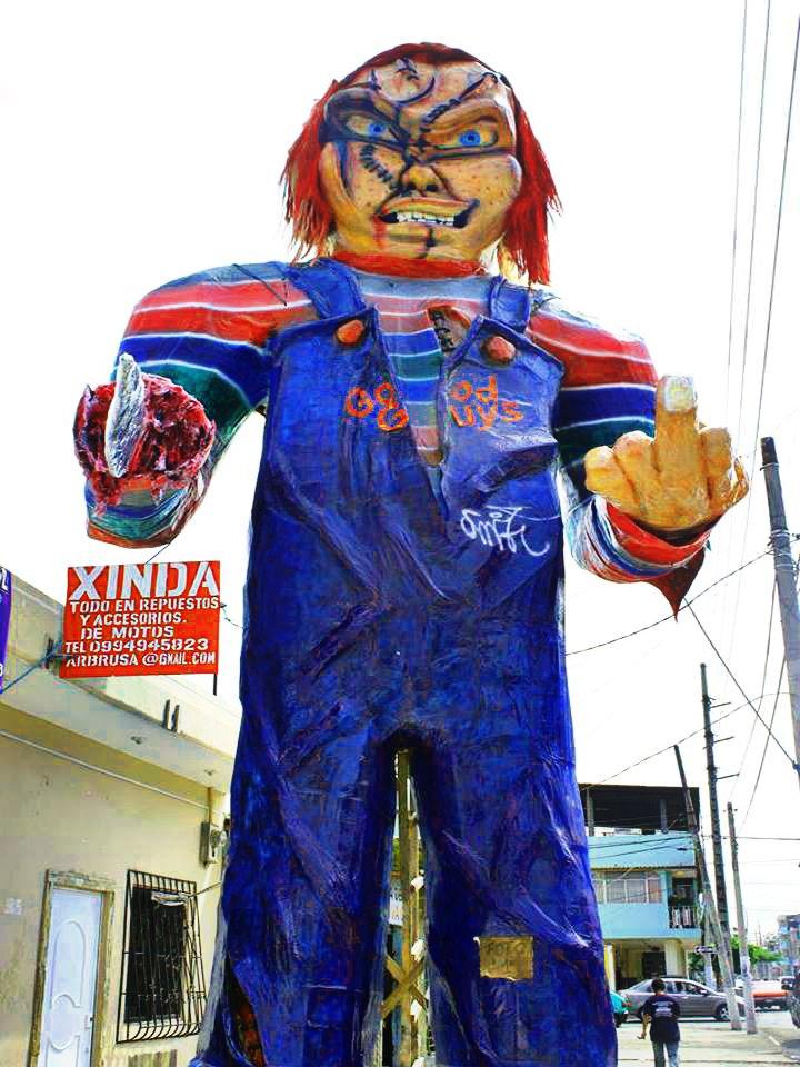 @RealDonMancini #AñoViejo of Chucky #NewYear #Ecuadorian #Monigotes  #OldYear<br>http://pic.twitter.com/yT1qOkc4fK