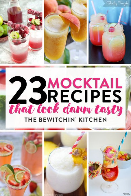 23 Mocktail Recipes That Look Damn Tasty