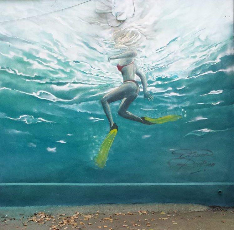 Olivier Roubieu Street Art  📍Mexico City 🇲🇽   #art #mural #graffiti #StreetArt