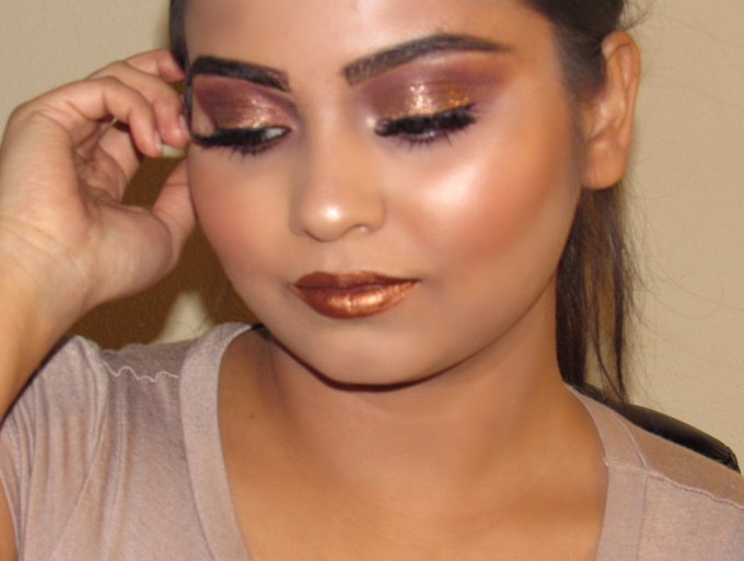AFFORDABLE HOLIDAY MAKEUP TUTORIAL 2016