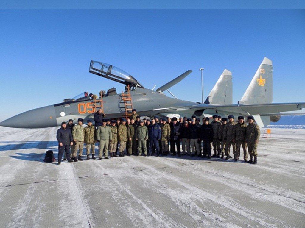كازخستان ستشتري مقاتلات Su-30 SM  C0r9nDTXAAAAX-e