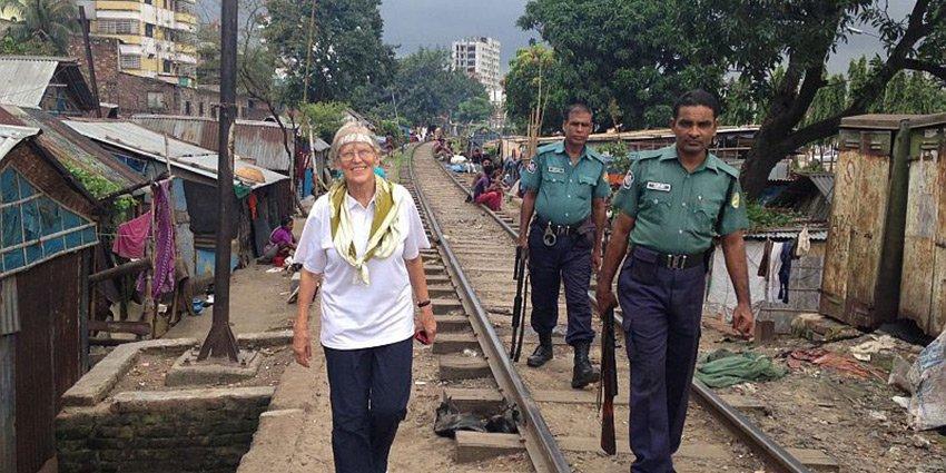 Dr. Hilltraud Fussenegger berichtet von ihrem Einsatz im German Doctors-Projekt in der Hauptstadt von #Bangladesch: https://t.co/LZTJ9iKqtC https://t.co/YC8Iko02Ww