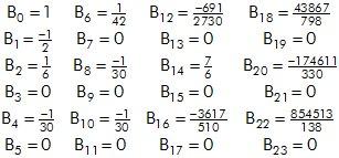 Los números de Bernoulli son números que aparecen en multitud de esquinas del análisis y la combinatoria. https://t.co/oiQK1wlyZU